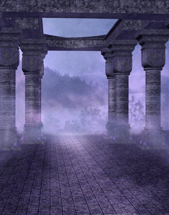 Paesaggio gotico 33 royalty illustrazione gratis
