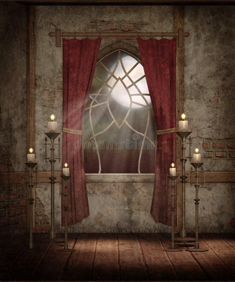 Paesaggio gotico 89 royalty illustrazione gratis
