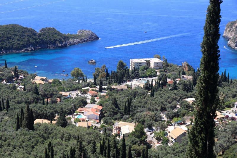 Paesaggio greco dell'isola fotografia stock libera da diritti