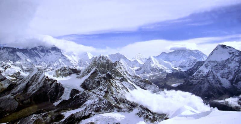 Paesaggio Himalayan immagine stock