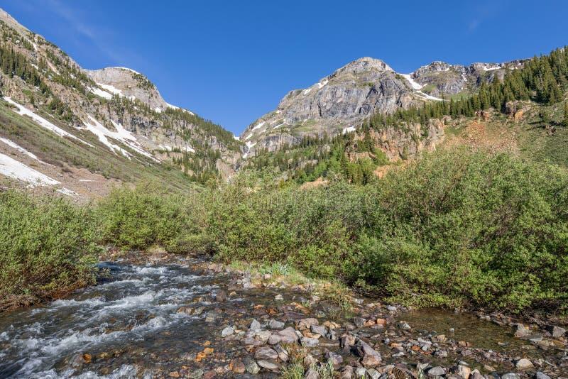 Paesaggio i della montagna di Colorado immagine stock libera da diritti