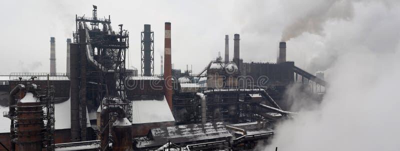Paesaggio industriale immagine stock