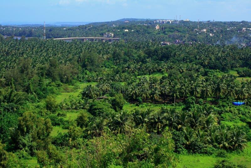 Paesaggio-Io vibrante di Ratnagiri fotografia stock libera da diritti
