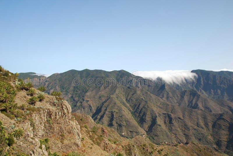 Paesaggio in isole Canarie immagini stock libere da diritti