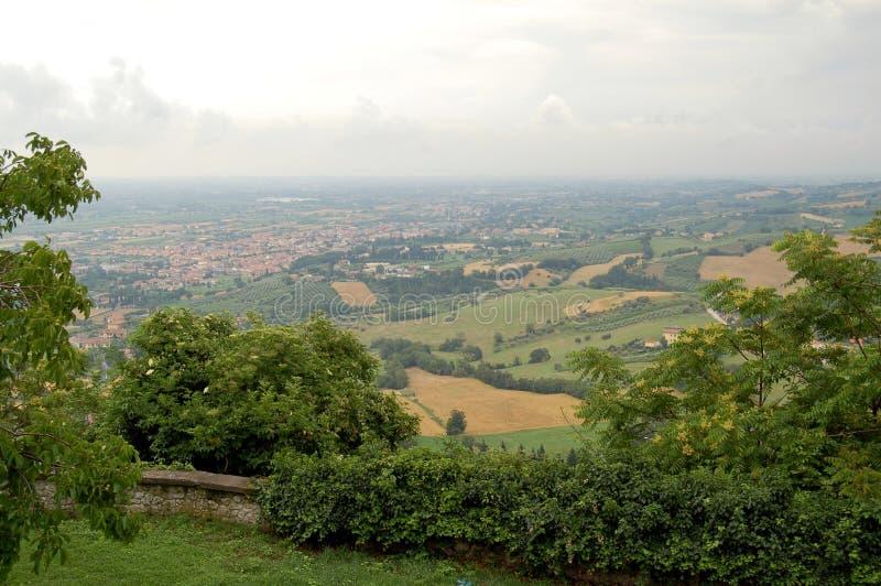Paesaggio, Italia fotografia stock