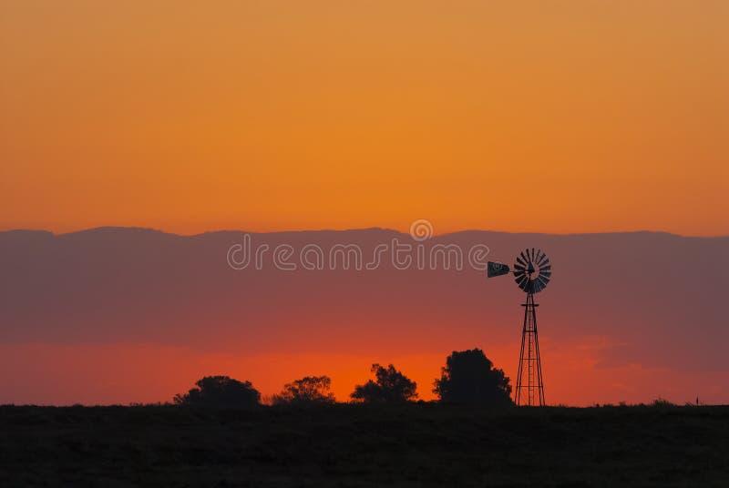 Paesaggio, La Pampa, Argentina fotografie stock