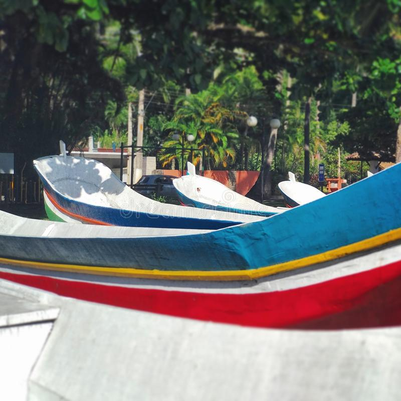 Paesaggio locale della spiaggia delle Filippine fotografia stock libera da diritti