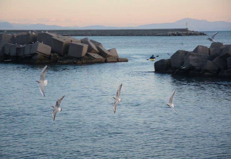PAESAGGIO-MARINO, SALERNO, SUD ITALIA fotografering för bildbyråer