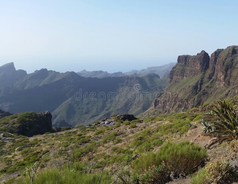 Paesaggio mounty di Mediterran fotografie stock