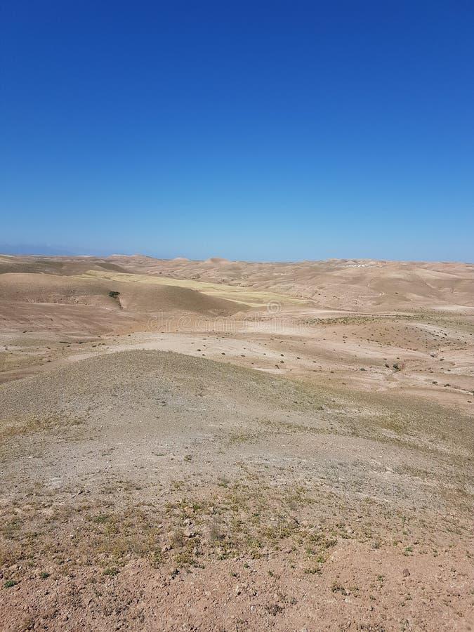 Paesaggio nel Marocco immagine stock