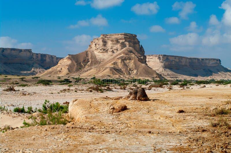 Paesaggio nell'Oman fotografie stock