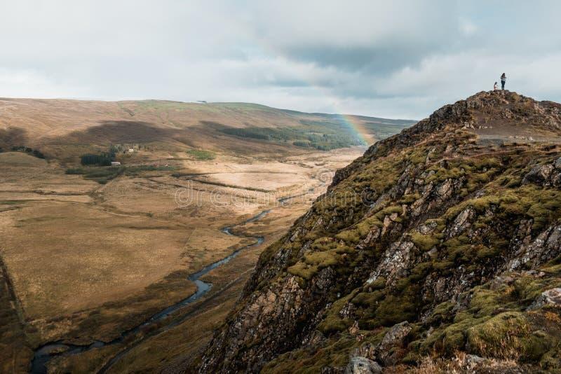 Paesaggio nordico di stupore, Islanda Viaggio e natura Scogliera alpina fotografia stock libera da diritti