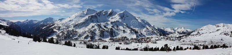 Paesaggio Obertauern immagini stock