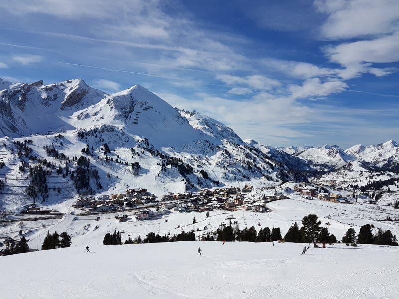 Paesaggio Obertauern immagine stock