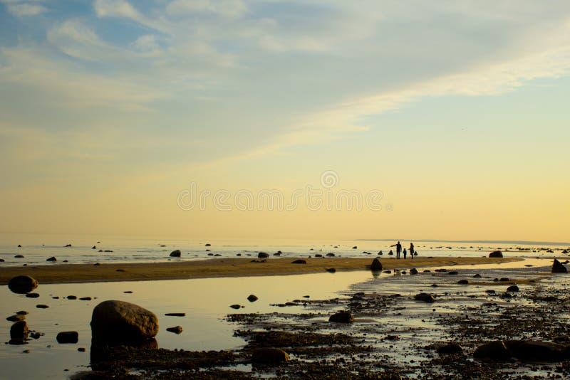 Paesaggio pacifico fotografia stock libera da diritti