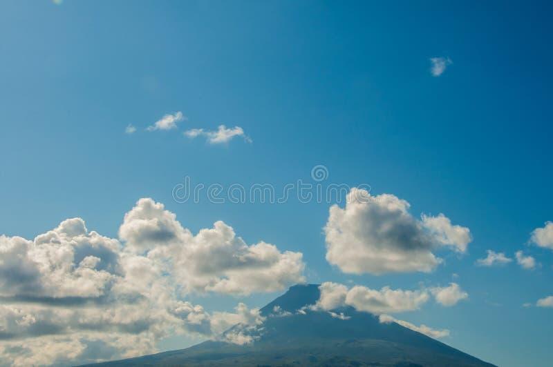 Paesaggio in Pico Island azores fotografia stock libera da diritti