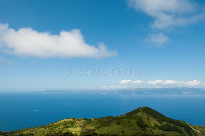 Paesaggio in Pico Island azores immagine stock libera da diritti