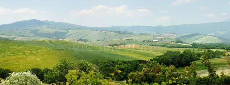 Paesaggio pittoresco della Toscana immagine stock