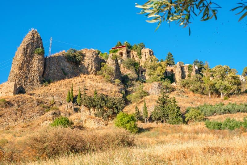 Paesaggio a Ronda L'Andalusia, Spagna immagini stock