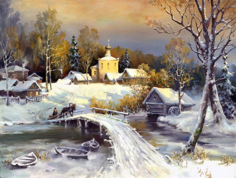 Paesaggio rurale royalty illustrazione gratis