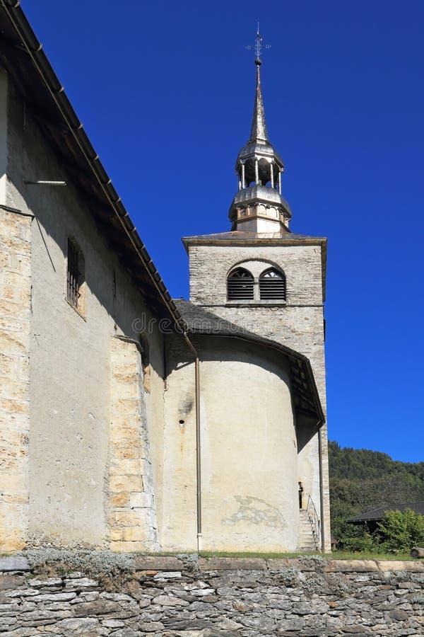 La chiesa con il belltower immagini stock libere da diritti