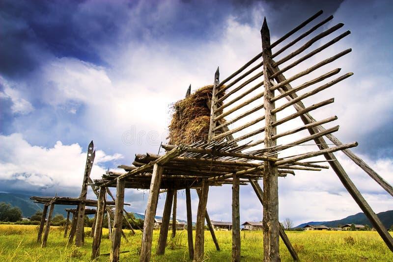 Paesaggio rurale cinese immagini stock libere da diritti