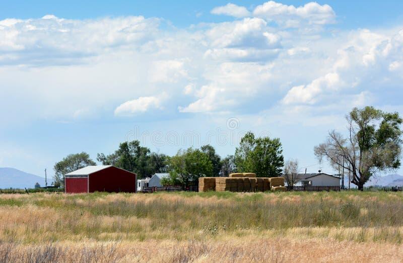 Paesaggio rurale dell'Utah fotografia stock