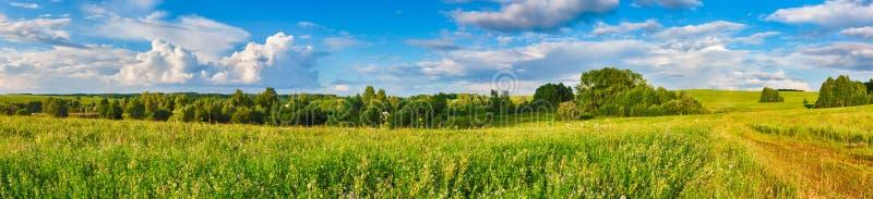 Paesaggio rurale Panorama immagini stock libere da diritti