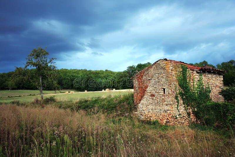 Paesaggio rurale, Quercy, Francia fotografie stock libere da diritti