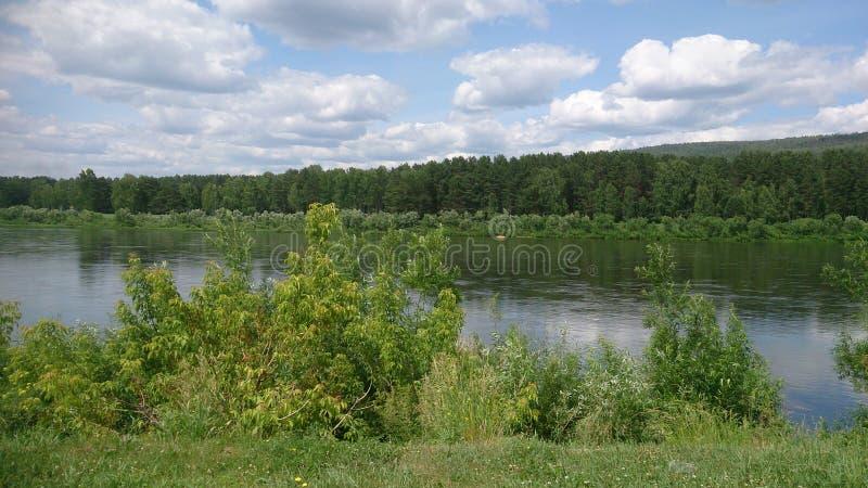 Download Paesaggio Russo - Fiume E Foresta Fotografia Stock - Immagine di estate, vista: 117981804