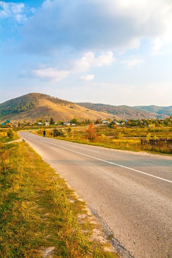 Paesaggio russo tipico fotografie stock