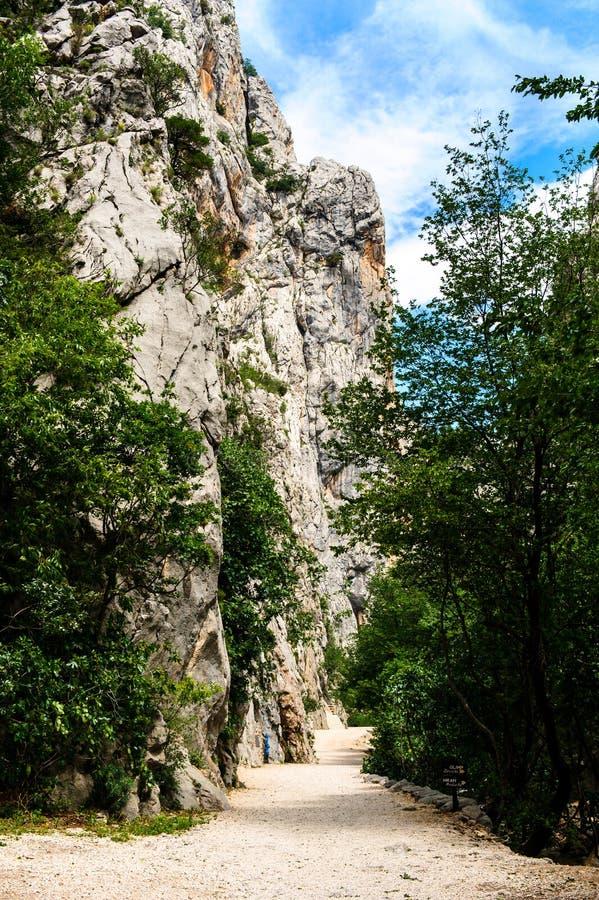 Paesaggio scenico della montagna fotografie stock libere da diritti