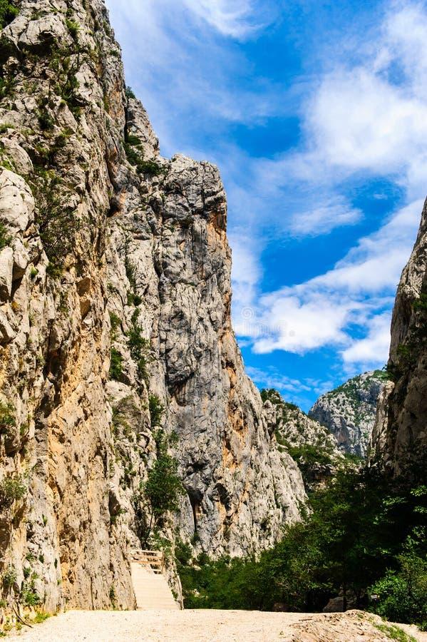 Paesaggio scenico della montagna immagini stock libere da diritti