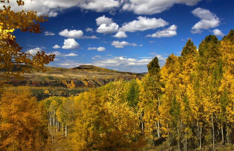 Paesaggio scenico di autunno immagini stock libere da diritti