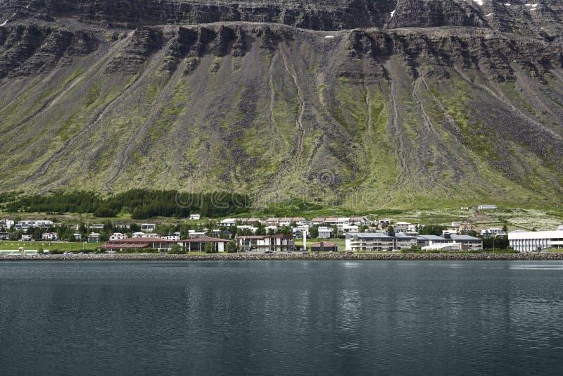 Paesaggio scenico a Reykjavik immagine stock