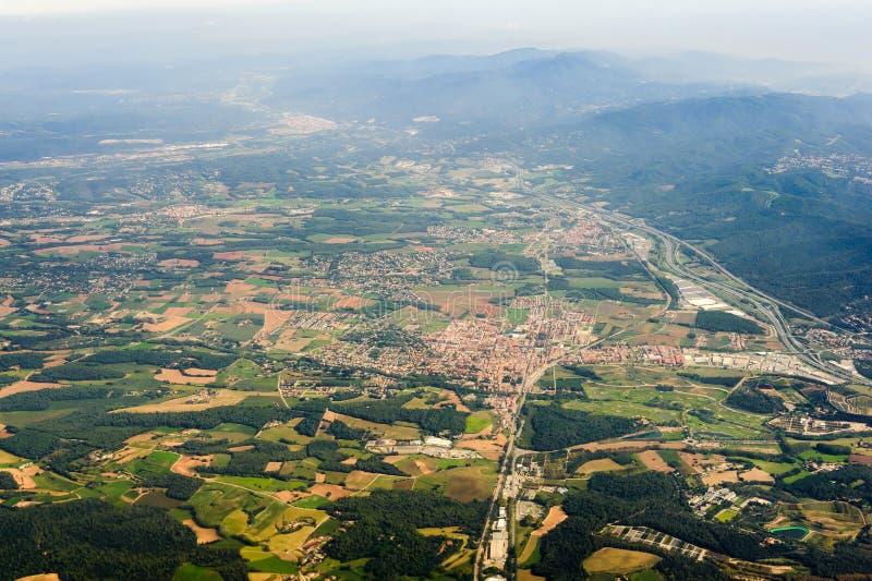 Paesaggio spagnolo del paese immagine stock libera da diritti