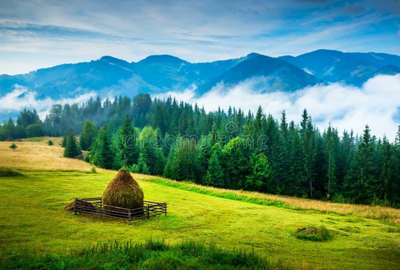 Paesaggio stupefacente della montagna immagine stock libera da diritti