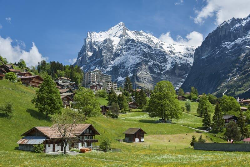 Paesaggio in Svizzera immagine stock