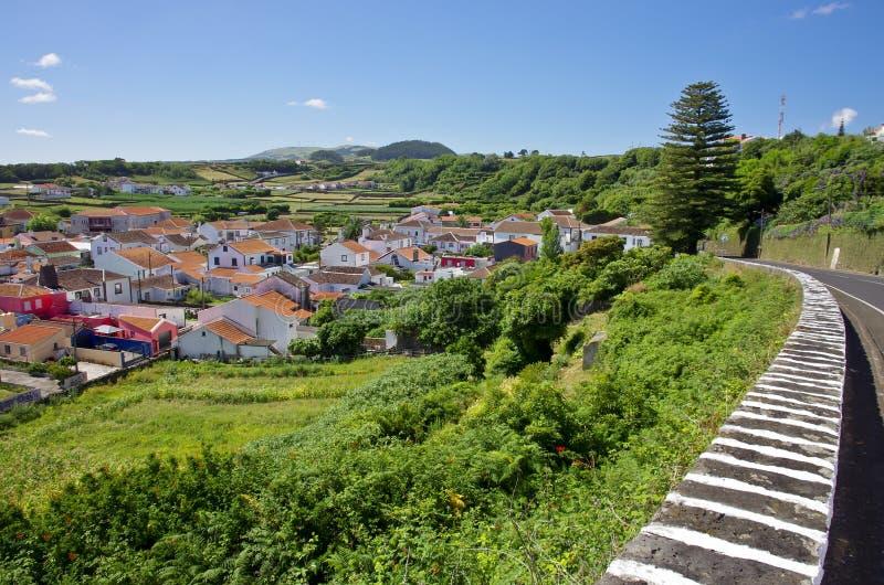 Paesaggio in Terceira, Agualva azores portugal fotografia stock libera da diritti