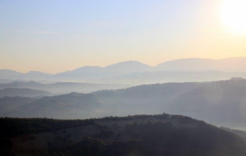 Paesaggio toscano fotografie stock libere da diritti
