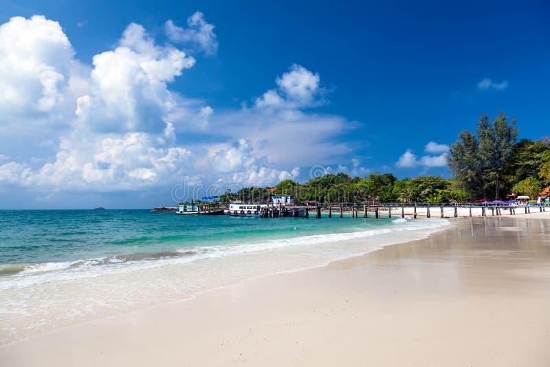 Paesaggio tropicale. immagine stock libera da diritti