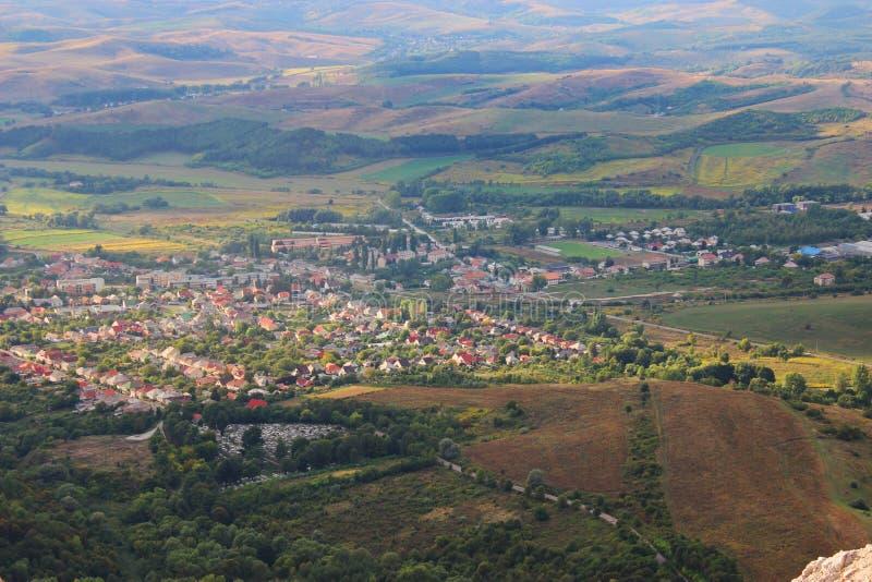 Paesaggio ungherese immagini stock