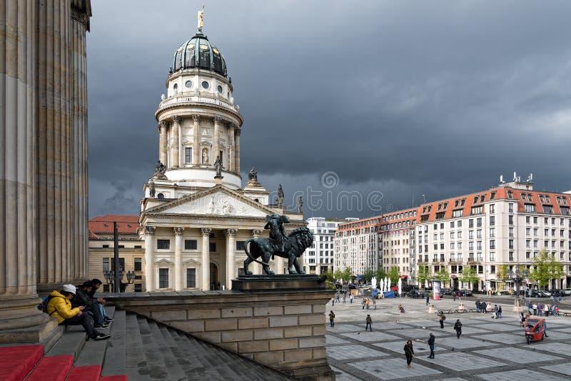 Paesaggio urbano a Berlino immagine stock