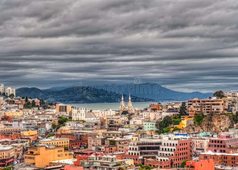 Paesaggio urbano del San Franciso fotografie stock