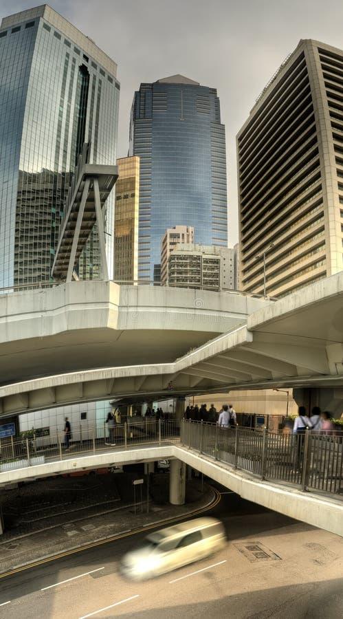 Paesaggio urbano della città moderna immagine stock libera da diritti