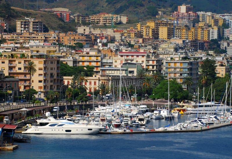 Paesaggio urbano della Sicilia immagine stock libera da diritti