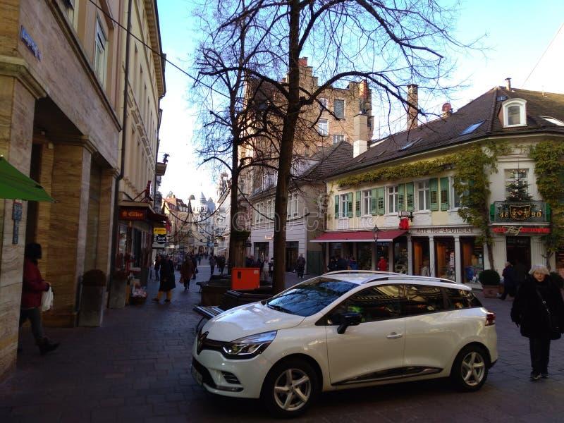 Paesaggio urbano di Baden-Baden immagini stock libere da diritti