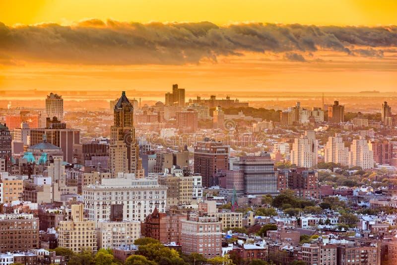 Paesaggio urbano di Brooklyn, New York fotografie stock