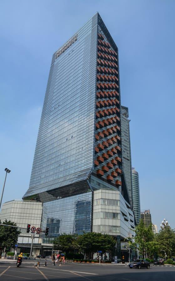 Paesaggio urbano di Chengdu, Cina immagine stock libera da diritti