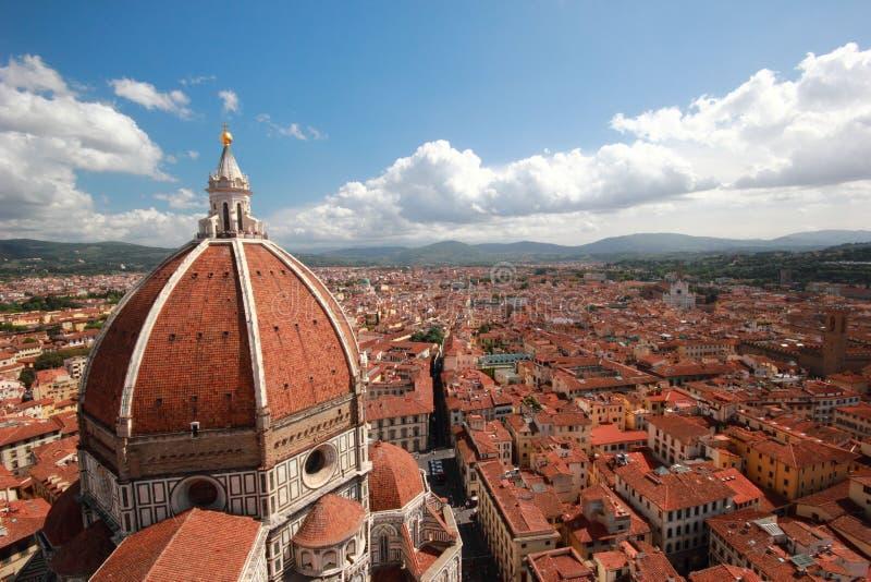 Paesaggio urbano di Firenze fotografie stock libere da diritti